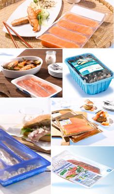 pakowanie ryb na maszynach Sealpac