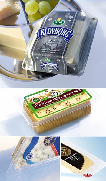 pakowanie serów na maszynach Sealpac