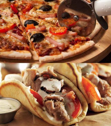 Produkcja pizzy i kanapek